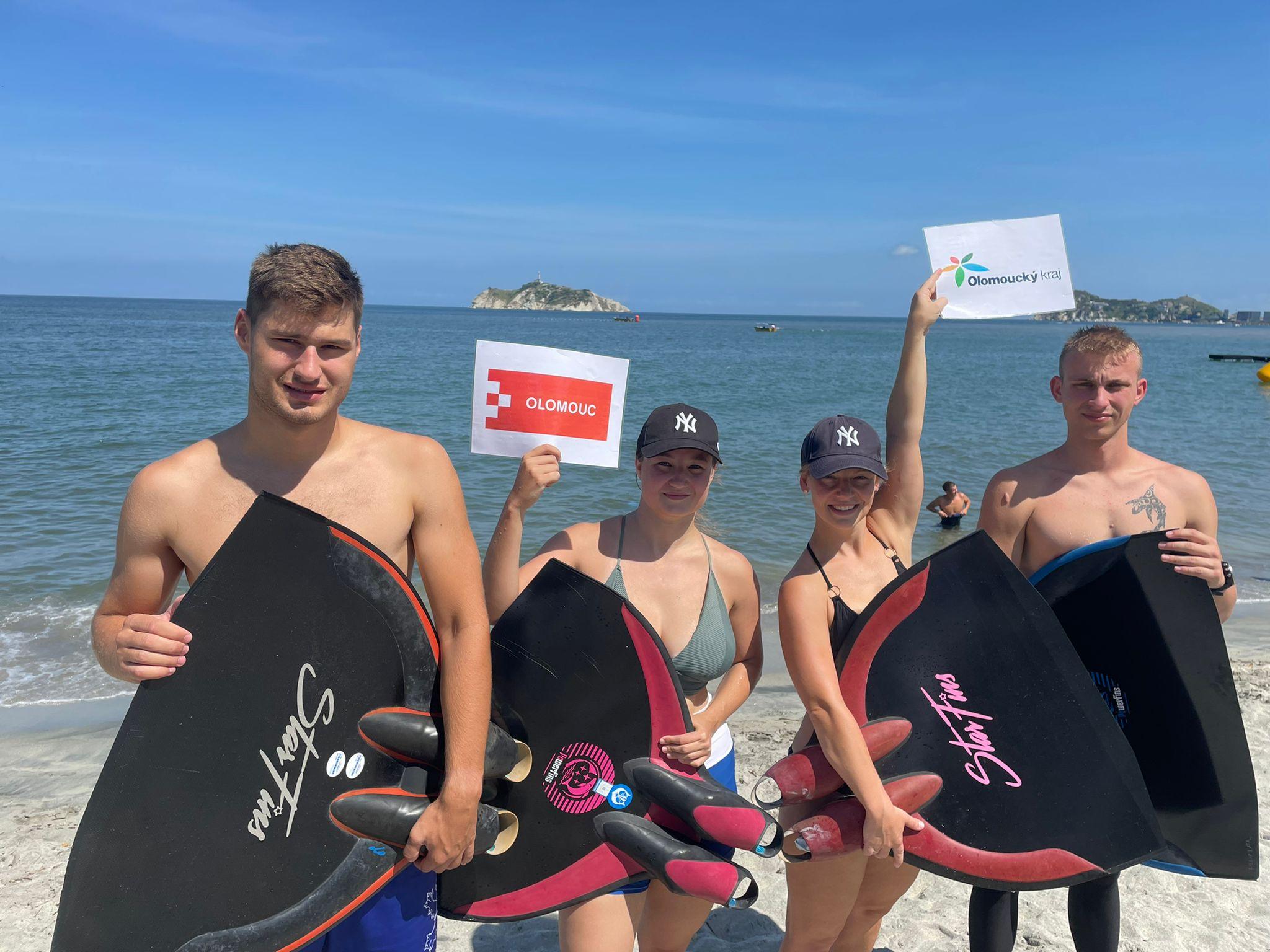 Zbyněk Svozil si vyplaval na mistrovství světa dvě zlaté medaile